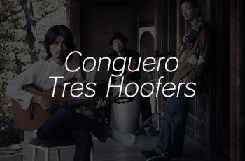 Conguero Tres Hoofers