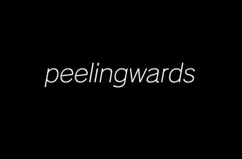 peelingwards